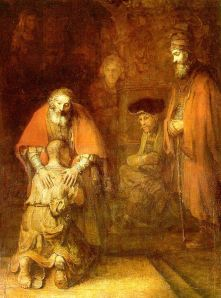 The Return of the Prodigal Son, Rembrandt, c. 1667