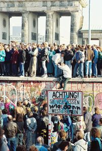 Brandenburg Gate, Berlin Wall, November 9, 1989