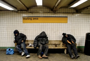 """Waiting Area"" from ""Images of Poverty"", image by Magnetomotive"