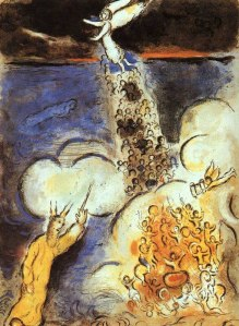 Parting of the Red Sea, Chagall