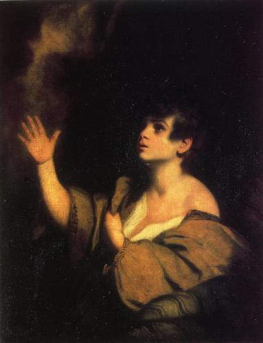 """The Calling of Samuel"", Joshua Reynolds, c. 1776"
