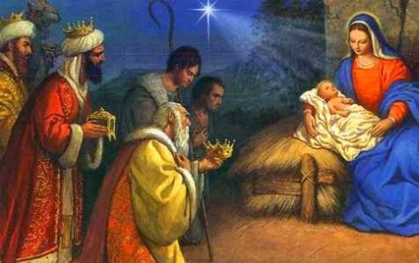 Wisemen and Manger